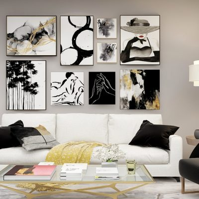 Rendering of Wall Gallery Layout
